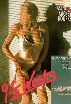 9 és fél hét - Kim Basinger, Mickey Rourke Plakát