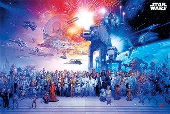 Plakát A Csillagok Háborúja - Universe