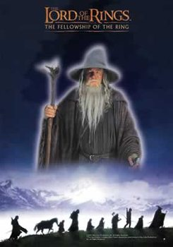 A Gyűrűk Ur - The Fellowship Plakát