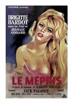A megvetés - Briggitte Bardot plakát