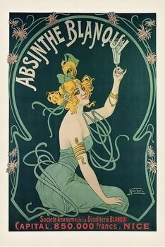 Absinthe Blaqui Plakát