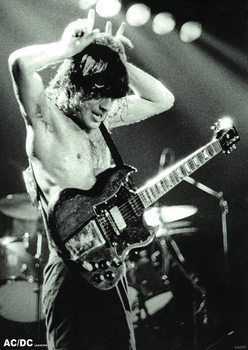 Plakát AC/DC - Angus Young 1979