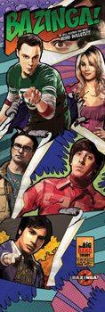 Agymenők - Comic Bazinga Plakát