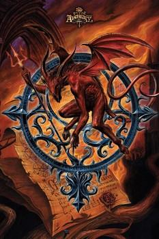 Alchemy - astrolabeus Plakát