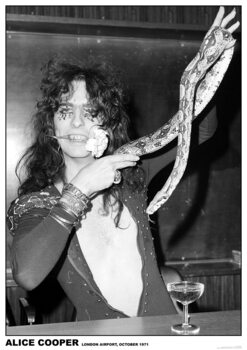 Plakát Alice Cooper