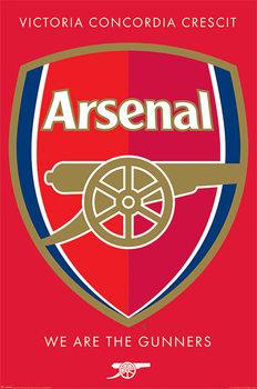 Arsenal FC - Crest Plakát