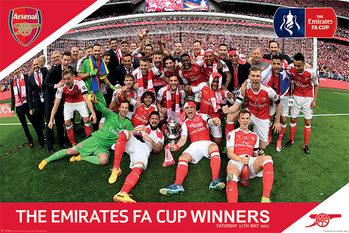 Arsenal FC - FA Cup Winners Plakát