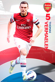 Arsenal - vermalen 12/13 Plakát