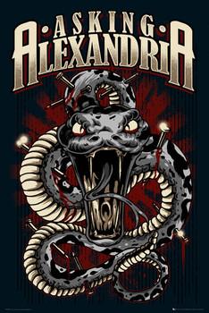 Asking Alexandria - snake Plakát