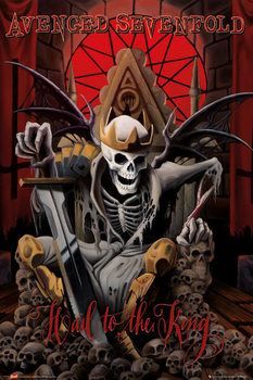 Avenged Sevenfold - hail to the king plakát