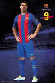 Barcelona 2016/2017 - Luis Suárez Plakát