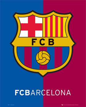 Barcelona crest Plakát