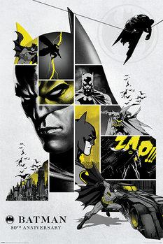 Plakát Batman - 80th Anniversary
