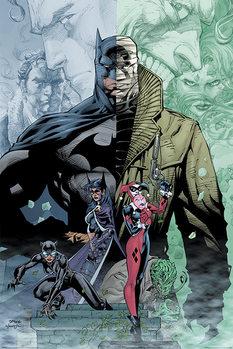 Plakát Batman - Hush