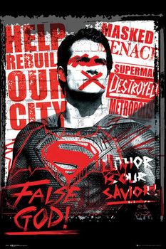 Batman Superman ellen: Az igazság hajnala - Superman False God plakát