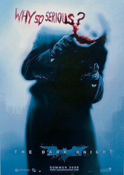 BATMAN: The Dark Knight - A sötét lovag - Joker Why So Serious? (Heath Ledger) Plakát