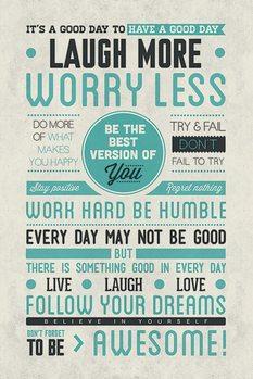 Plakát Be awesome
