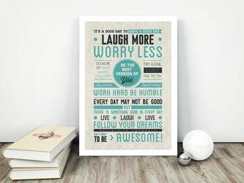 Be awesome Plakát