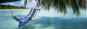 Beach – hammock Plakát