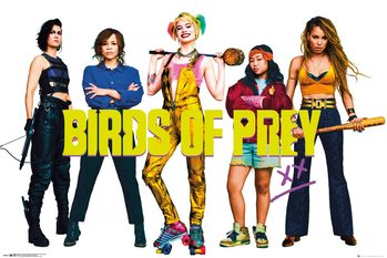 Birds of Prey: And the Fantabulous Emancipation of One Harley Quinn - Group Plakát