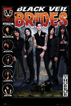 Black Veil Brides - Tales of Horror Plakát