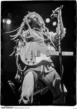Bob Marley - brighton leisure Plakát