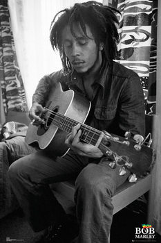 Bob Marley - Guitar Plakát