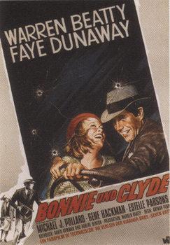 Bonnie és Clyde - Faye Dunaway, Warren Beaty Plakát