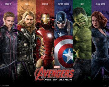 Bosszúállók 2: Ultron kora - Team plakát