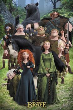 BRAVE - cast plakát