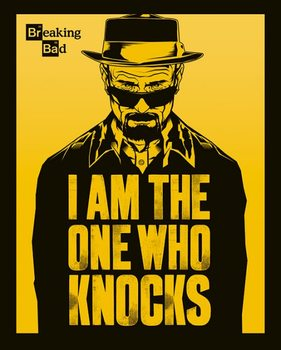Breaking Bad (Totál Szívás) - I Am The One Who Knocks plakát
