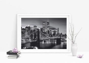 Brooklyn bridge (B&W) Plakát