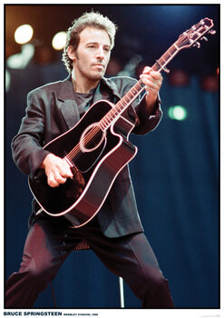Plakát Bruce Springsteen - Wembley