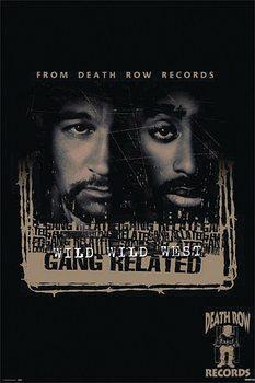 Bűnös szándék - Death Row Records Plakát