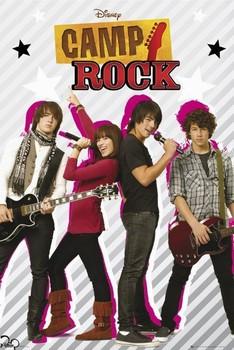 CAMP ROCK - Group Plakát