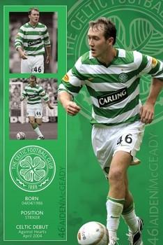 Celtic - mcgeady Plakát