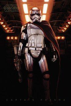 Csillagok háborúja VII (Star Wars: Az ébredő Erő) - Captain Phasma Plakát