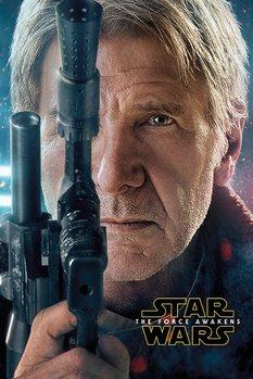 Csillagok háborúja VII (Star Wars: Az ébredő Erő) - Hans Solo Teaser Plakát