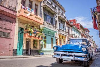 Plakát Cuba - Havana