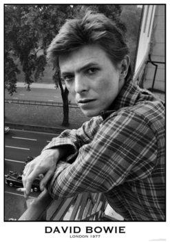 David Bowie - London 1977 Plakát
