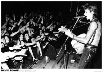 David Bowie - Newcastle 1972 Plakát