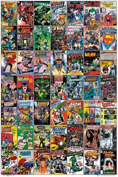 DC COMICS - comic covers Plakát