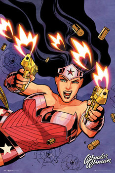 DC Comics - Wonder Woman Shooting Plakát