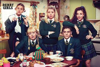 Derry Girls - Kitchen Plakát