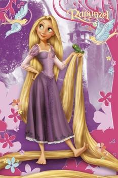 DISNEY PRINCESS - rapunzel Plakát