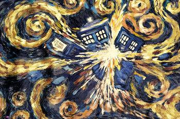DOCTOR WHO - exploding tardis Plakát