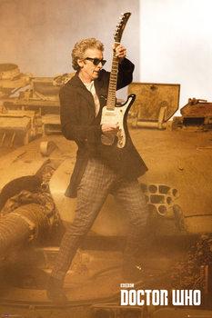 Doctor Who (Ki vagy, doki?) - Guitar Portrait Plakát