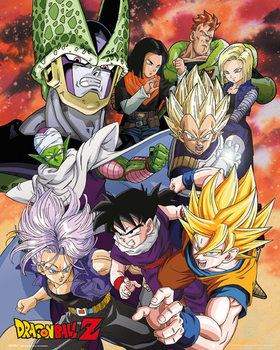 Dragon Ball Z - Cell Saga Plakát