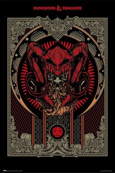 Dungeons & Dragons - Player's Handbook Plakát