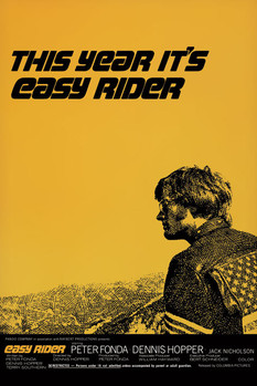 EASY RIDER - One sheet Plakát